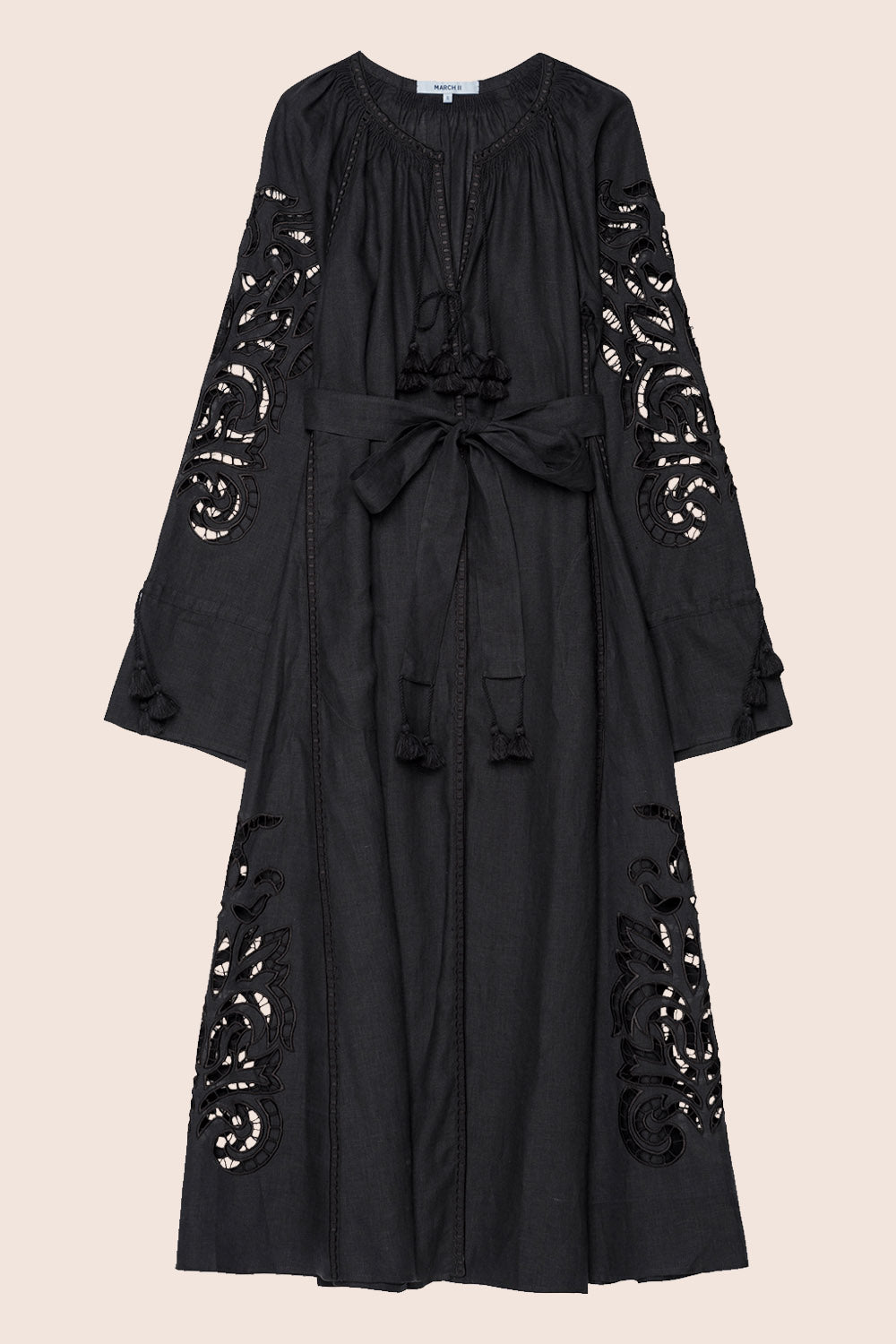 San Juan Maxi Dress In Black