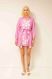 Coco Mini Dress in Pink