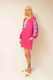 Adele Tunic in Fuchsia