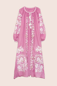 Tina Maxi Dress in Pink