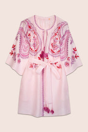 Ece Mini Dress in Powder Pink