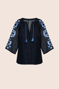 Henri Blouse in Black