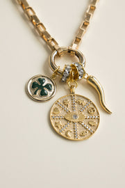 Lucky Eye Charm Necklace