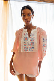 Misha Blouse in Pink