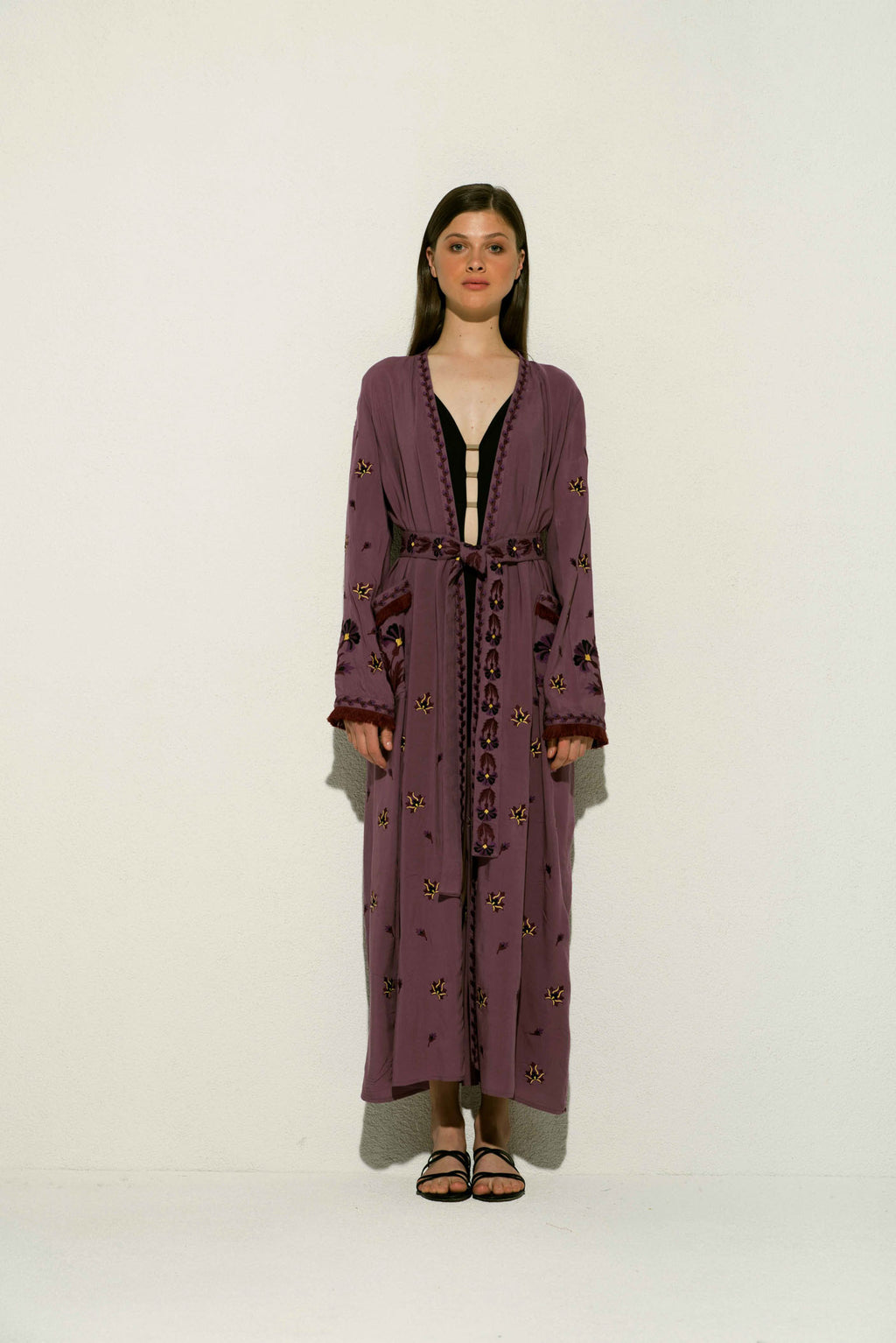 Marcia Duster in Purple
