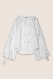 San Juan Blouse in White