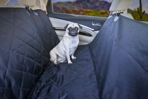 Devoted Doggy Premium Dog Seat Cover with Hammock Feature with Free Dog Seat Belt