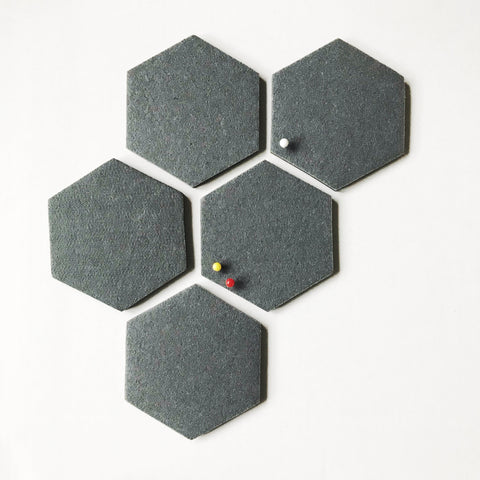 Honeycomb pin board