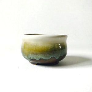 Natural tones ceramic pot
