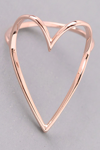 Love Me More Rose Gold Ring