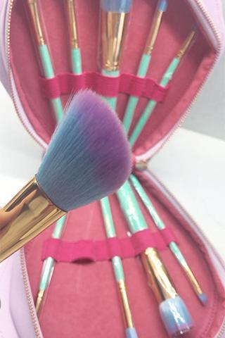 Ariel's Darling Mermaid Makeup Brushes