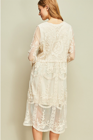 All Lace Everything Sun Dress
