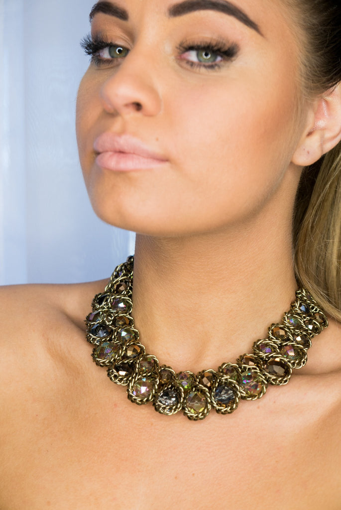 Necklaces - Sun Goddess Collar Neck Piece