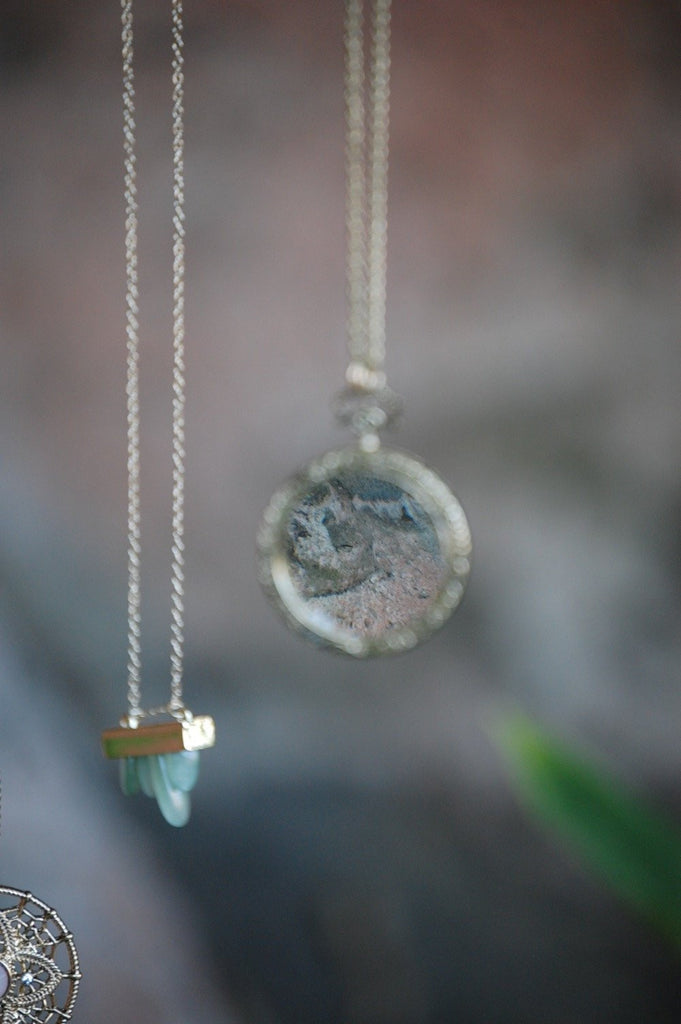Necklaces - The Looking Glass Necklace