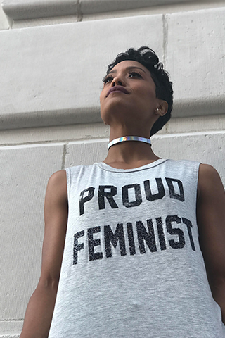 Proud Feminist Graphic Tank