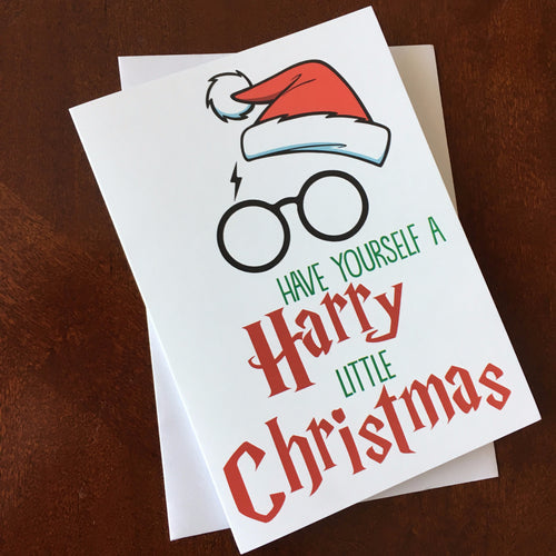 Greeting Card - Harry Little Christmas!