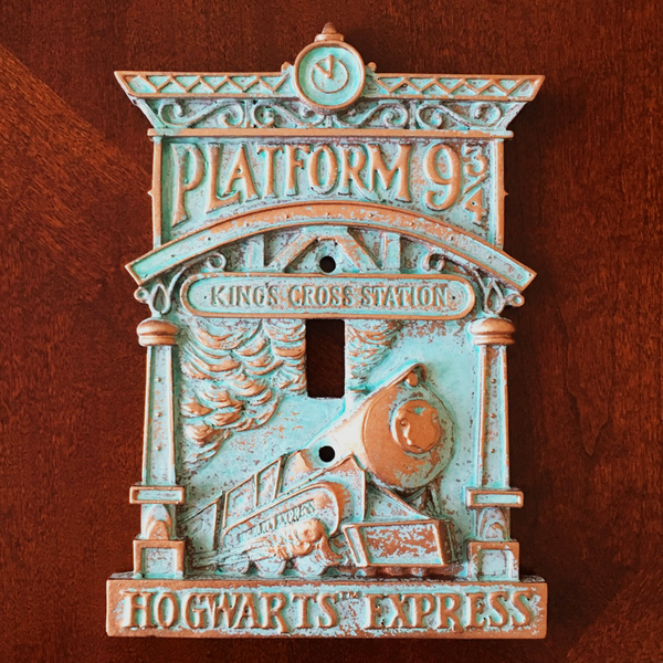 Platform 9 3/4 Light Switch Cover- Limited Edition