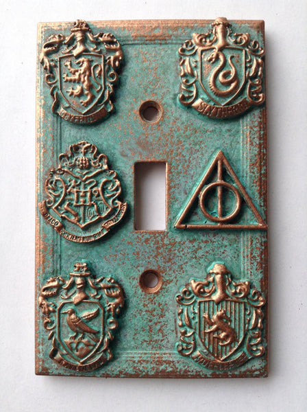 Other - Light Switch Cover - HP Crests