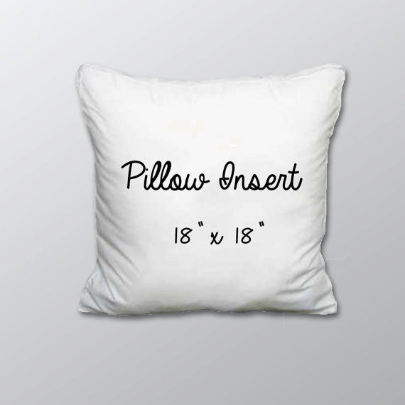 Pillow Case - Pillow Insert