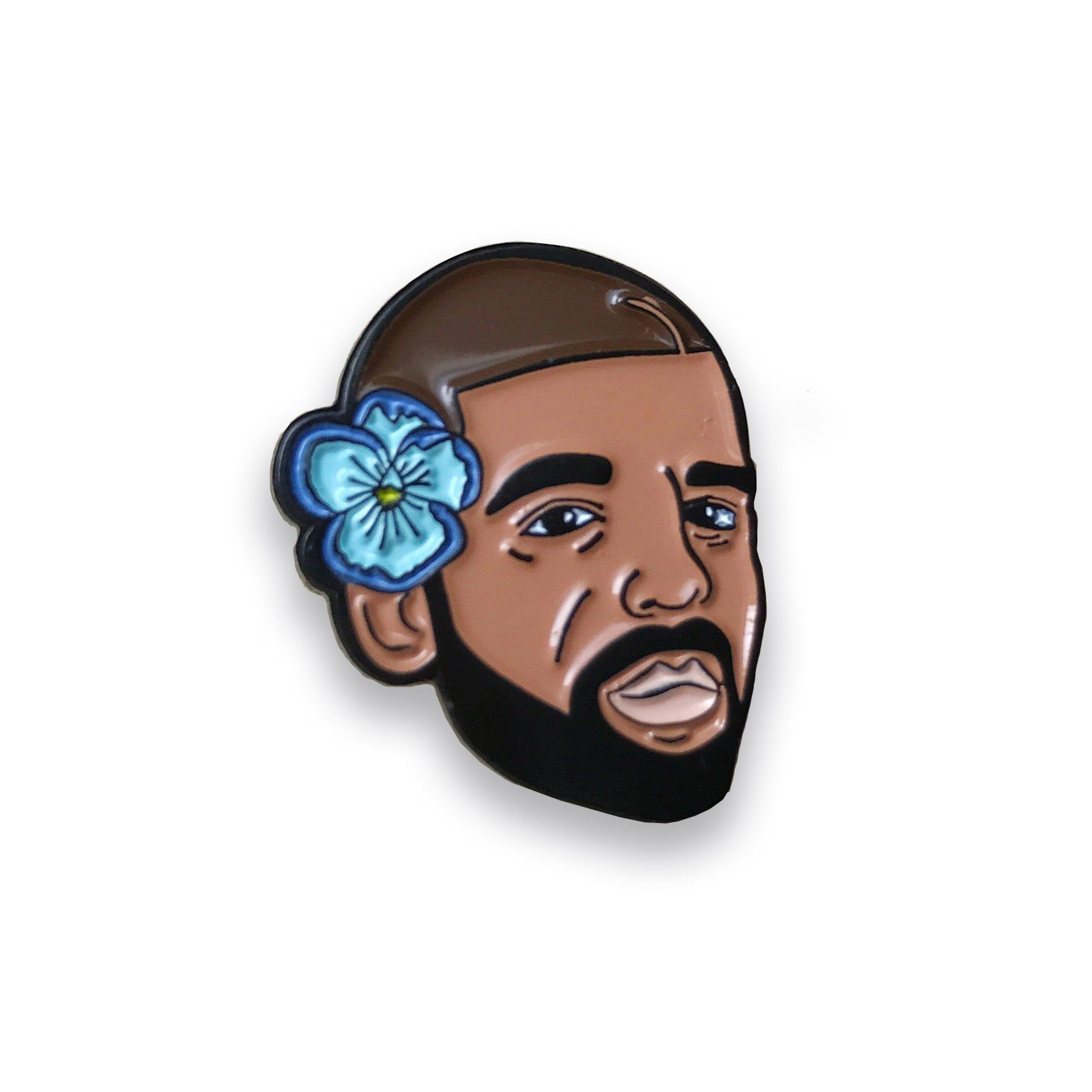 Drake Lapel Pin, Pins, - Sad Truth Supply - Enamel Pins