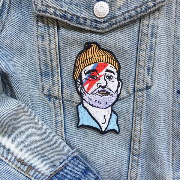 Zissou Sane Patch, Patch, - Sad Truth Supply - Enamel Pins