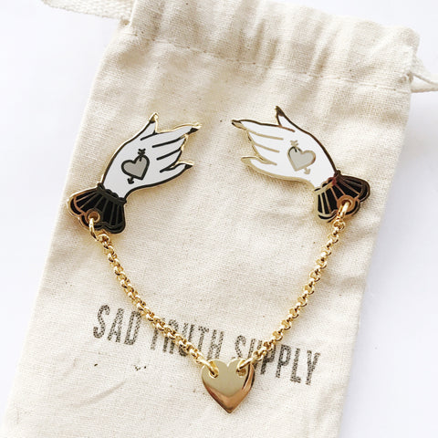 Labour of Love Collar Set, Pins, - Sad Truth Supply - Enamel Pins