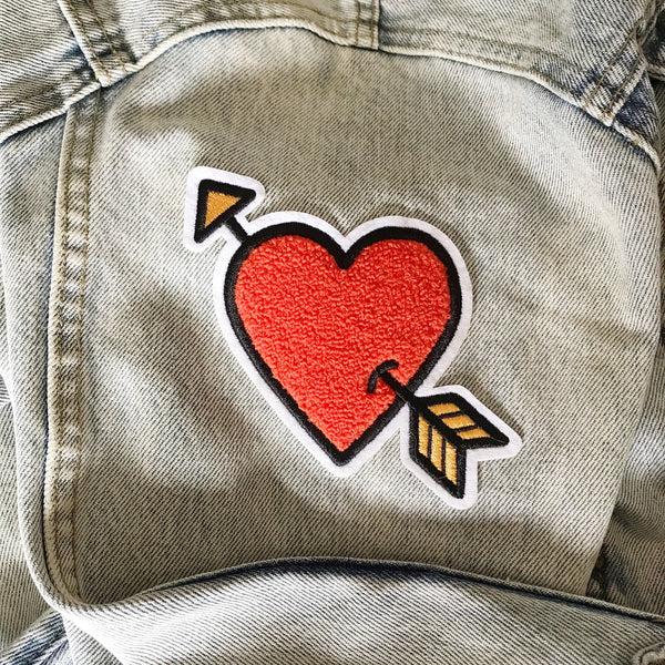Lovestruck Chenille Peel & Stick Patch - Sad Truth Supply