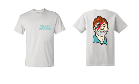 Team Zissou Tee (WHITE), , - Sad Truth Supply - Enamel Pins
