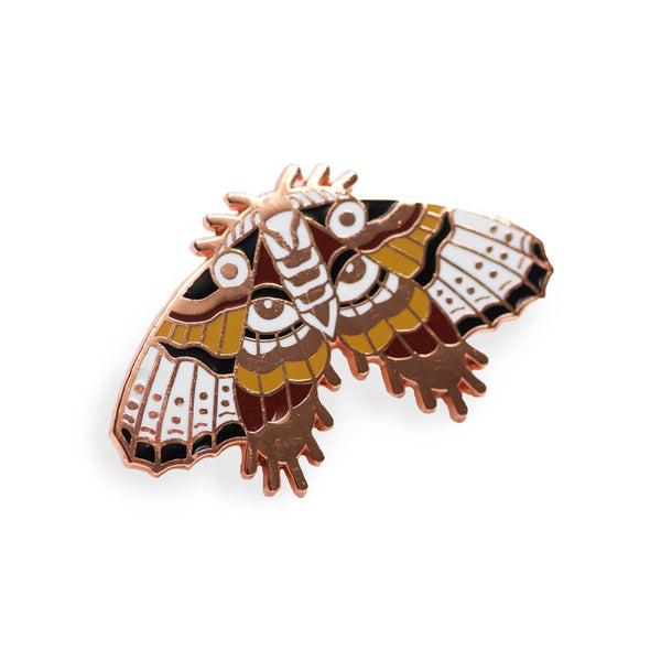 XL Moth Statement Pin