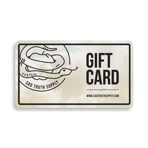 Gift Card, Gift Card, - Sad Truth Supply - Enamel Pins