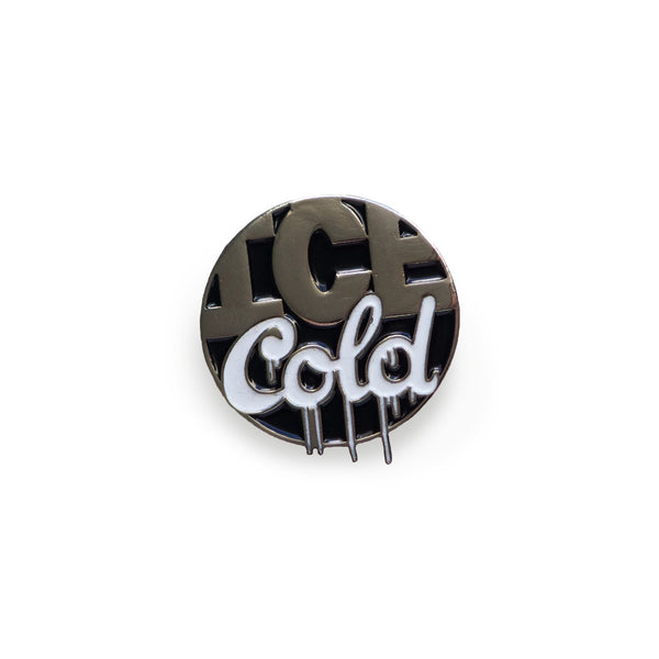 Ice Cold Lapel Pin, Pins, - Sad Truth Supply - Enamel Pins