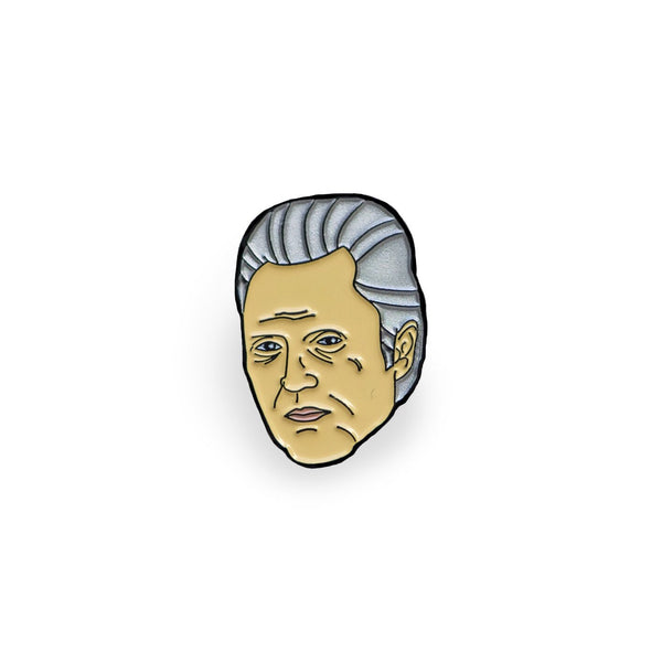 Christopher Walken Lapel Pin, , - Sad Truth Supply - Enamel Pins