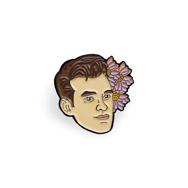 Morrissey Lapel Pin - Sad Truth Supply