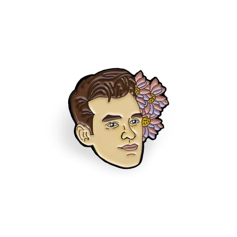 Morrissey Lapel Pin, , - Sad Truth Supply - Enamel Pins