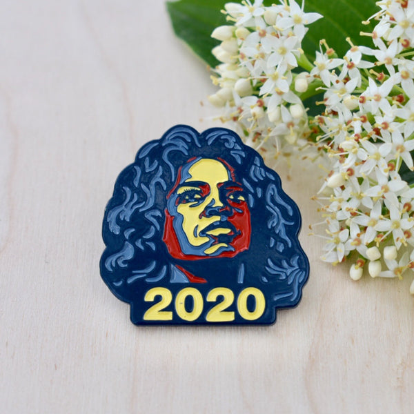 Oprah For President 2020 Lapel Pin, Pins, - Sad Truth Supply - Enamel Pins