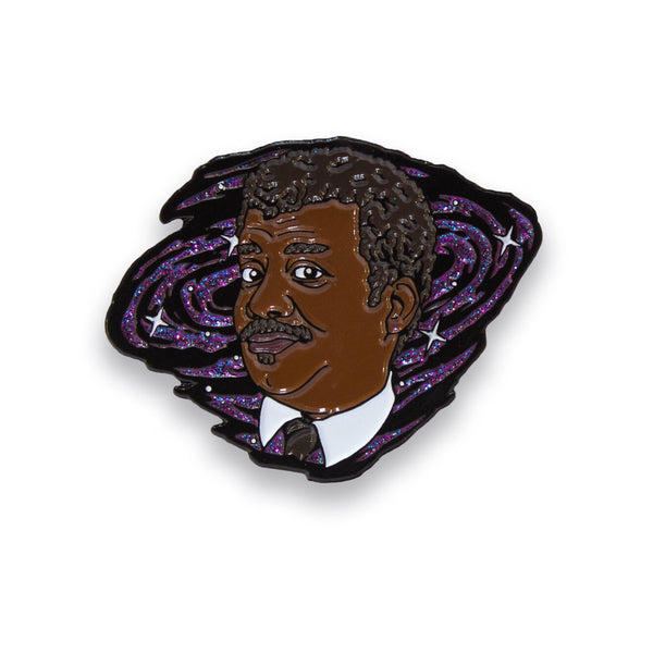 Neil deGrasse Tyson Enamel Pin