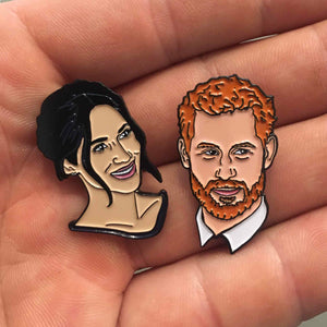 Harry Meets Meghan Lapel Pin Pack, Pins, - Sad Truth Supply - Enamel Pins