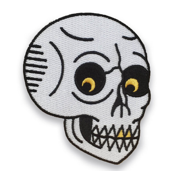 Menacing Skull Patch - Sad Truth Supply