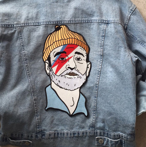 XXL Zissou Sane Back Patch, Patch, - Sad Truth Supply - Enamel Pins