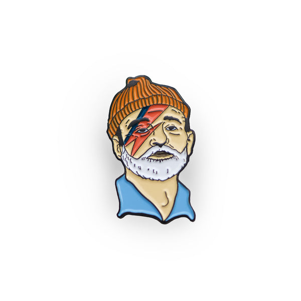 Zissou Sane Lapel Pin - Sad Truth Supply