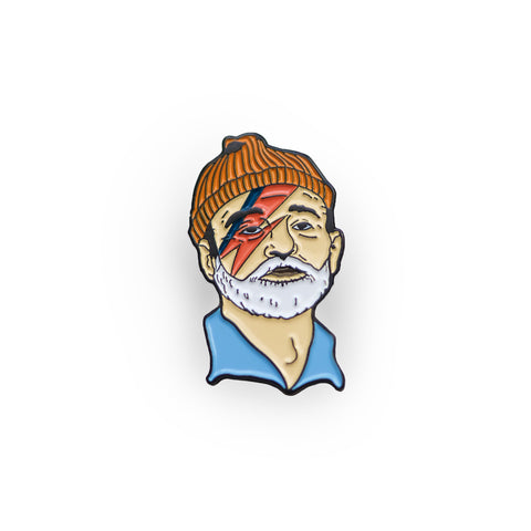 Zissou Sane Lapel Pin, Pins, - Sad Truth Supply - Enamel Pins