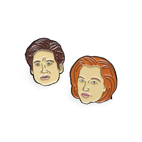 Mulder & Scully Pin Pack - Sad Truth Supply