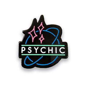 Psychic Neon Lapel Pin, Pins, - Sad Truth Supply - Enamel Pins