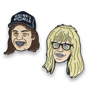 Wayne's World Pin Pack, Pins, - Sad Truth Supply - Enamel Pins