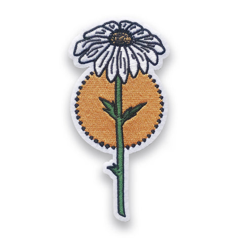 Enchanted Daisy Peel & Stick Patch, Patch, - Sad Truth Supply - Enamel Pins