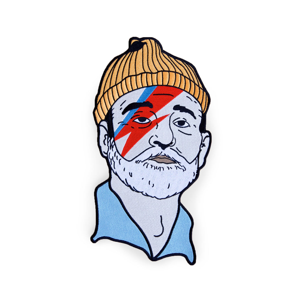Zissou sane pin | enamel pins | lapel pins, buttons, patches.