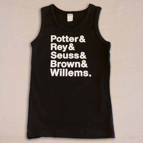 Authors Kids Tank Top - Small Apparel  - 1