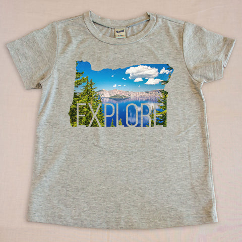 Explore Kids T-Shirt - Small Apparel  - 1