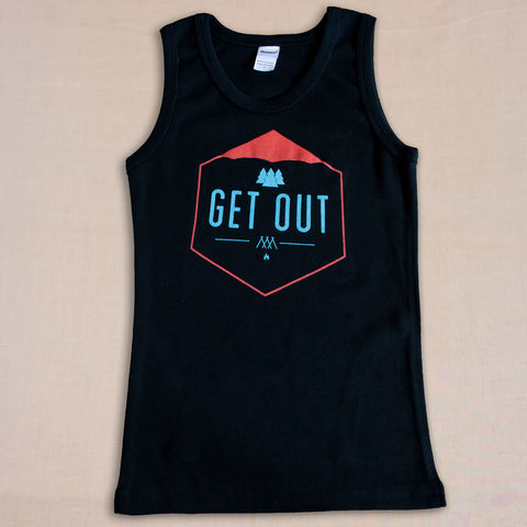 Get Out Kids Tank Top - Small Apparel  - 1