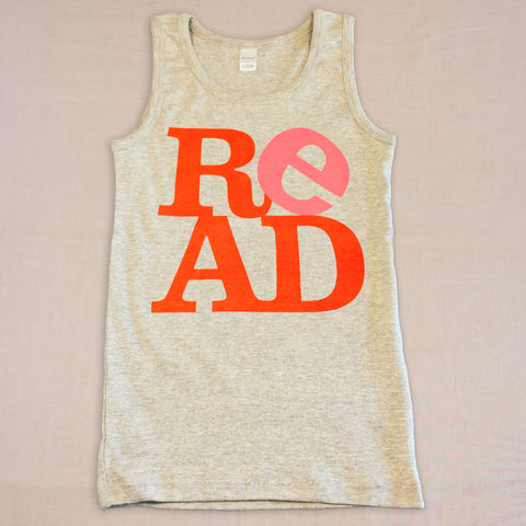 ReAD Youth Tank Top - Small Apparel  - 1